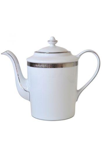 Bernardaud Torsade Coffee Pot  - 12 cups, 34 oz