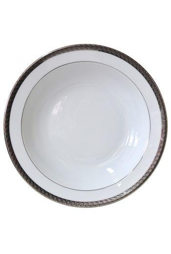 """Bernardaud Torsade Deep Round Dish - 11.5"""""""