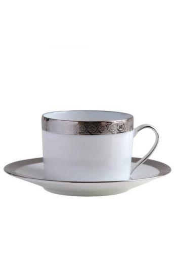 Bernardaud Torsade Tea Cup and Saucer