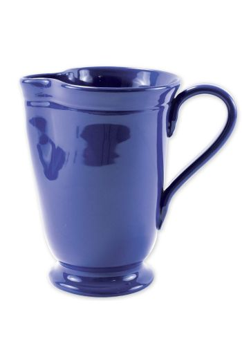 Fresh Marine Blue Large Footed Pitcher
