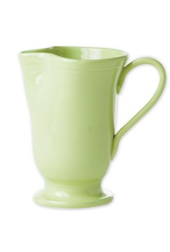 Fresh Pistachio Large Footed Pitcher