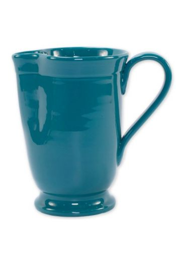 Fresh Teal Large Footed Pitcher