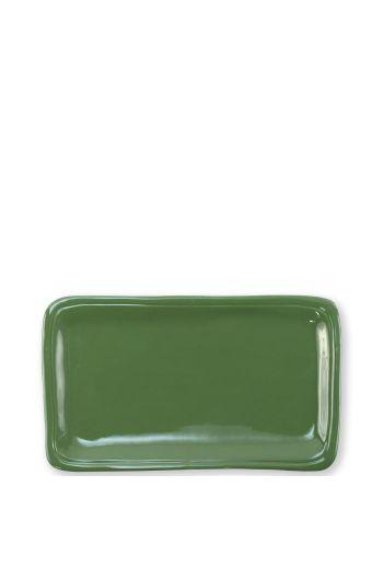 Fresh Green Small Recantgular Platter