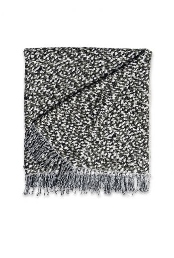 """MISSONI Vidal Throw  55"""" x 79"""" - Available in Black and White"""