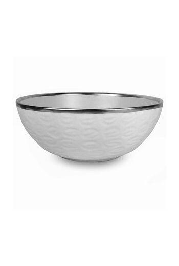 "Wainwright Truro Platinum Large Bowl - 12"" diameter x 6"" height"