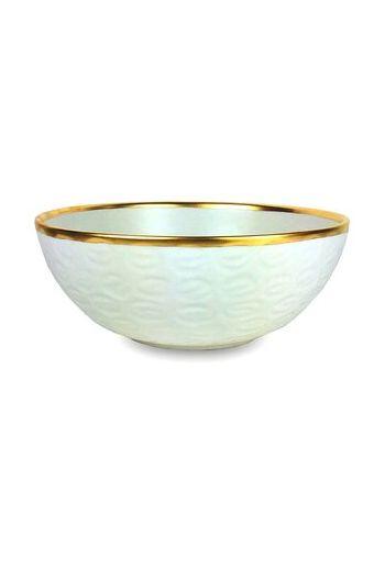 "Wainwright Truro Gold Large Bowl - 12 "" diameter x 6"" height"