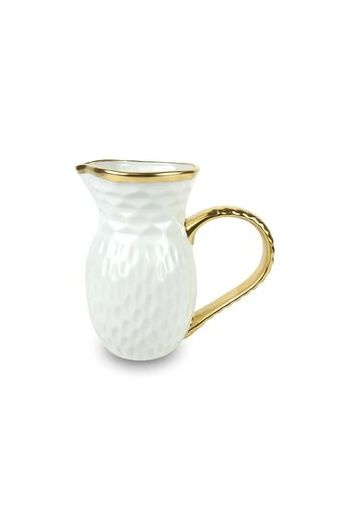 "Wainwright Truro Gold Pitcher - 8.25"" height   96 oz"
