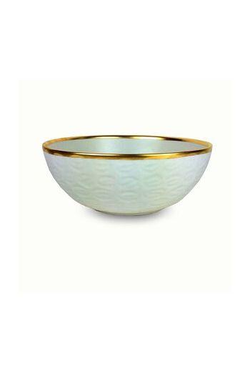 "Wainwright Truro Gold Small Bowl  - 8.25 "" diameter x 3.5"": height"
