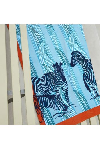 YVES DELORME Zebra Beach Towel 40x67 in - Available in Multi Color Print