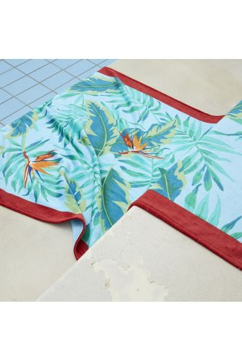 YVES DELORME Tropical Beach Towel 40x67 in - Available in Multi Color Print
