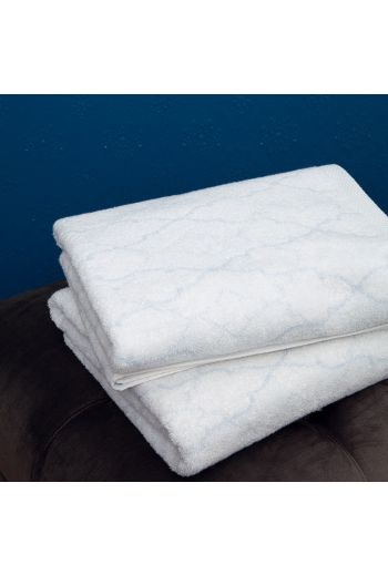 YVES DELORME Luna Guest Towel 17x28 (Set of 2) - Available in White