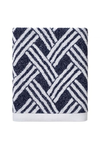 YVES DELORME Naussica Guest Towel 17x28 (Set of 2) - Available in Navy and White